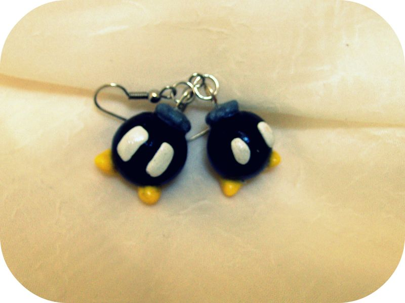 Bobomb Earrings 02